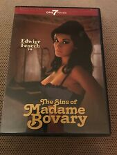 The Sins Of Madame Bovary DVD Edwige Fenech Super Rare Movie Fast Shipping Look