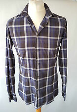 Checked Long Sleeve Slim Casual Shirts & Tops for Men NEXT