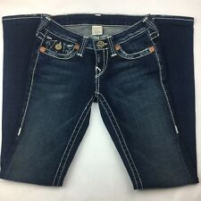 True Religion Women's World Tour Flare Jeans Size 26 x 31