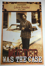 Murder Was The Case Poster - CALVIN BROADUS - Snoop Doggy Dogg - Death Row