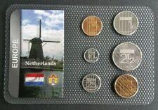 PAYS-BAS - NETHERLANDS - SET DE 6 MONNAIES DE NETHERLANDS DATES DIVERS.