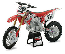 Two Two Motorsports 1:12 Scale Chad Reed Honda CRF-450R dirt bike, 2012 model