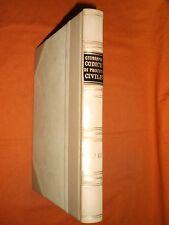 giurisprudenza codice di procedura civile  libro 3° 1957 ,in pelle