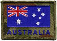 Australian Flag + Australia DPCU Embroidered Patch