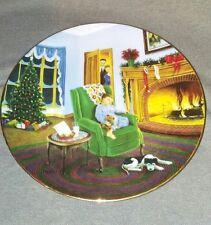 Vintage Hamilton Collection Dear Santa 1995 Collector Plate Decorative Christmas