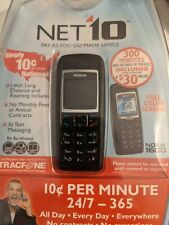 New Nokia 1600 Basic Prepaid Cell Phone For Net10 Mobile