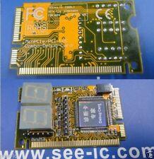 Upgraded 3in1 Mini PCI Pci-e LPC Diagnostic Debug Card PC Analyzer Tester Yellow