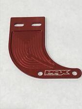 PAX RACING RED BILLET CHAIN GUIDE - COBRA 50cc parts P3 JR SR FWE King CX50