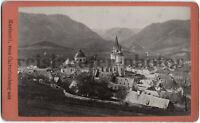Mariazell vom Calvarienberg aus. Nicolaus Kuss. Orig.-CdV-Photo um 1880