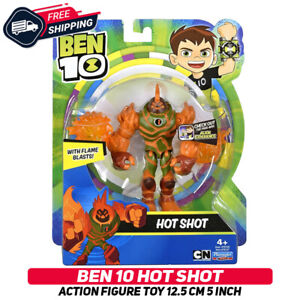 Ben 10 HOT SHOT Action Figure Toy 12.5 cm 5 Inch Original Very Rare New Sealed