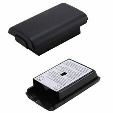 For Xbox360 Controller Black AA Battery Pack Back Cover Shell Case Black NEW