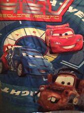 Disney Cars Red Line Racing Toddler Bed Blanket Reversible