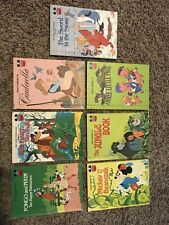 Walt Disney's Wonderful World Of Reading Book Lot Vintage Good Condition