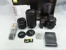 Nikon Digital Slr D5600 Double Zoom Kit Exhibition