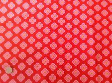 Michael Miller Ooh La La Petite Fleurs Red Pink Floral Cotton Quilting Fabric FQ