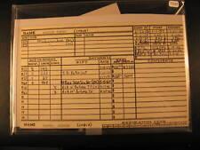 1957 Topps Béisbol Jugador Archivo Tarjeta Andy Pafko Braves