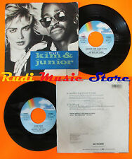 LP 45 7'' KIM WILDE & JUNIOR Another step Hold back 1987 italy MCA cd mc dvd *