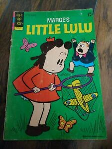 Choice Little Lulu #180 #233 #249 1966-1978 Gold Key Comics Free Bag//Board