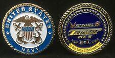 USS Harry Truman CVN 75 Officer Challene Coin