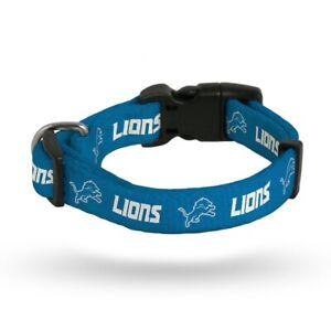 NFL Detroit Lions Dog Collar NEW LICENSED (Sizes)