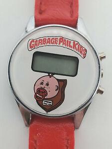 Garbage Pail Kids - Topps - Vintage 1980s digital watch - GPK - Rare! Works!