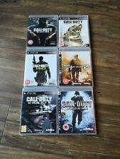 PS3 - Call of Duty Game Bundle - Black Ops 1 , Modern Warfare 2 & 3 Ghost