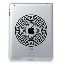 motif #04 Apple Ipad Mac MacBook PC PORTABLE autocollant vinyle décalcomanie.