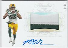 Marquez Valdes-Scantling Green Bay Packers 2019 Flawless Jersey Patch AUTO /20