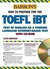 Barron's TOEFL iBT Internet-Based Test, 12th Edition