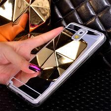 Fashion Mirror Ultra-thin Soft TPU Back Case Cover For Samsung S8 Plus S7 Edge