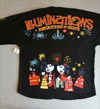 More details for epcot illuminations spirit jersey w/tag size large