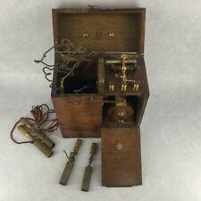 Ancien appareil portatif d'induction de l'entreprise W.A.Hirshmann Berlin