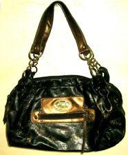 Fubu Black Gold Purse Handbag