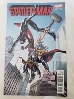 SPIDER-MAN #1 (2015) MARVEL COMICS MARK BAGLEY VARIANT COVER! MILES MORALES! NM