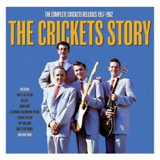 The Crickets Story 2-CD NEW SEALED Buddy Holly That'll Be The Day/Oh, Boy!+