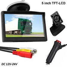 5'' HD 800*480 TFT LCD Screen Monitor for Car Rear View Reverse Backup Camera