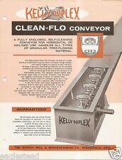 Farm Equipment Brochure - Kelly Duplex - Conveyor Feeder Elevator (F3393)
