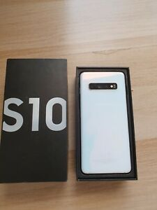 Samsung galaxy s10 128gb dual sim unlocked prism white
