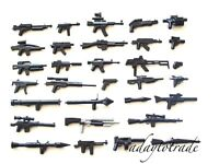Custom Weapons for LEGO Minifigures - Random Selection of 10 Weapons - RBB