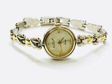 Vintage Bonjour  Ladies Quartz Wrist Watch TwoTone Very Elegant (BIJ501J)