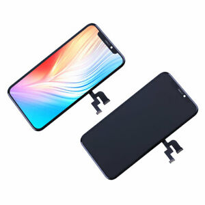 Soft OLED LCD Display Touch Screen Digitizer Assembly Parts For iPhone X Black