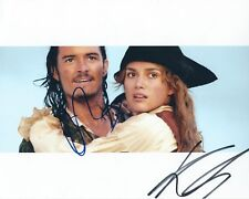 PIRATES OF THE CARIBBEAN AUTOGRAPHED PHOTO SIGNED 8X10 #1 KEIRA AND ORLANDO