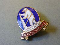 Enamel Badge Warwickshire County Bowls Association Club