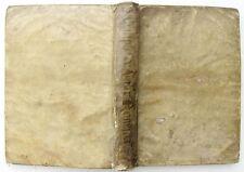 1598 rare ANTIQUE VELLUM BOUND MILITIA ROMANA ILLUSTRATED MILITARY THEME BOOK
