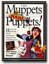 The Muppets Make Puppets, Henson, Cheryl, Good Condition Book, ISBN 1563057085