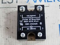 Potter /& Brumfield SSRT-240A25 Solid State Relay Panel Mount 280VAC 25A