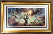 Glory to God in the Highest l. e. print - Tom duBois - Angels