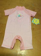 $32 Little Me girls rash guard bathing suit size 24 months p96L