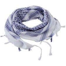 Brandit Shemag Sjaal Katoen Huidvriendelijk Zacht Buitenshuis Hoofddoek Azul Wit