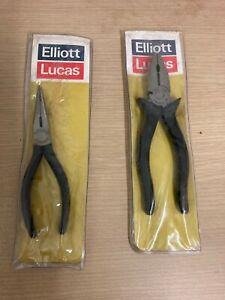 ELLIOT LUCAS PW 583-6 & PW 2169-T Pliers  Old Stock  MINT